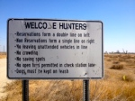 Local rules for the Mendota Wildlife Area in California.