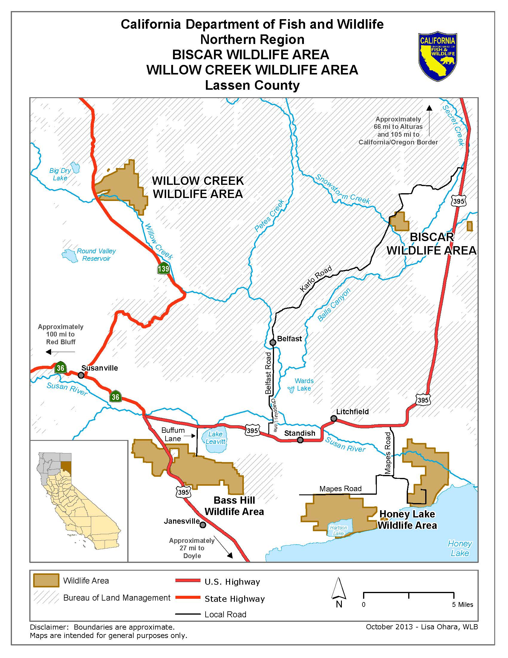 Biscar wildlife area legal labrador for California 1 day fishing license