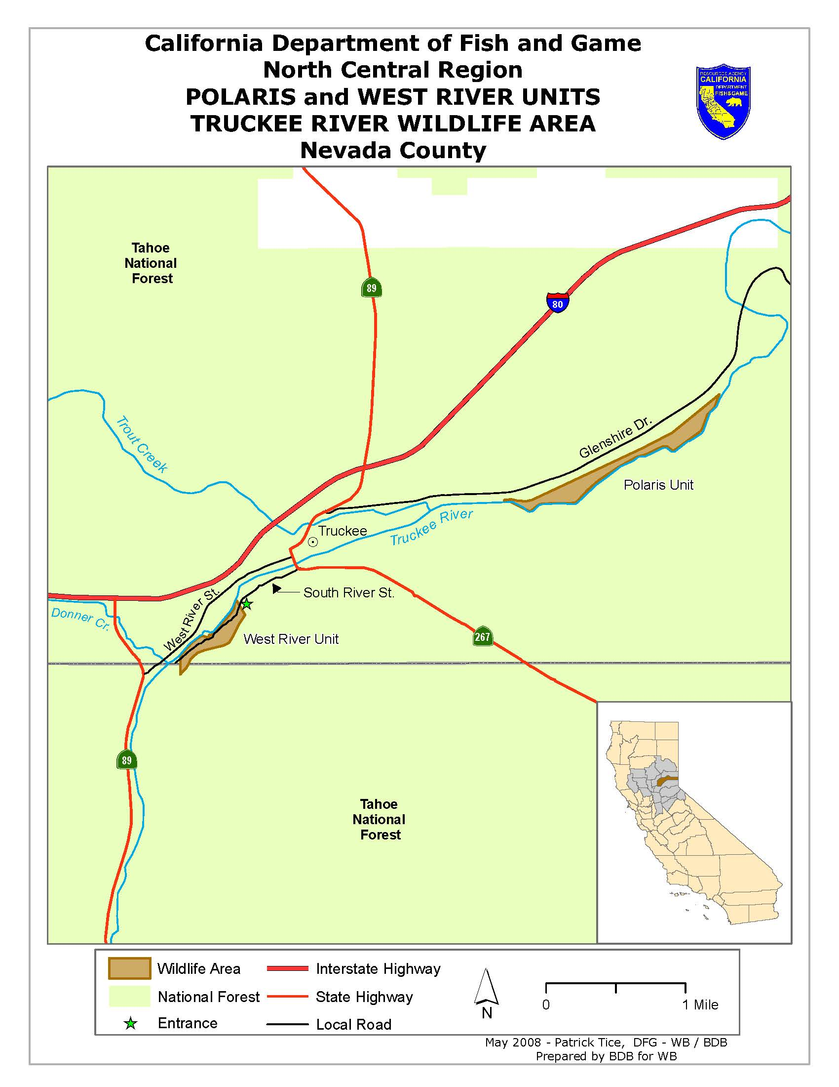Truckee river wildlife area we 39 ve moved to www for California 1 day fishing license