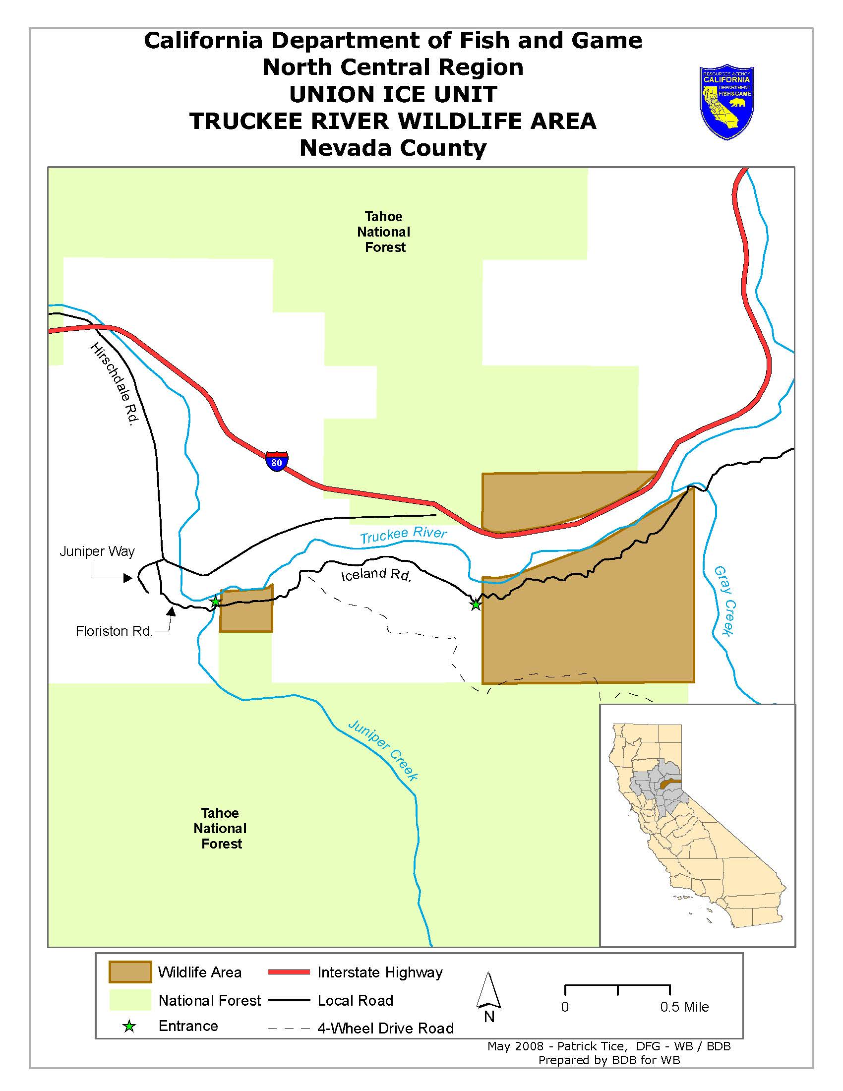 Truckee river wildlife area legal labrador for California 1 day fishing license