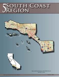 Los Angeles, Orange, San Diego, Santa Barbara and Ventura counties