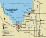 Sonny Bono Salton Sea national wildlife refuge hunt map