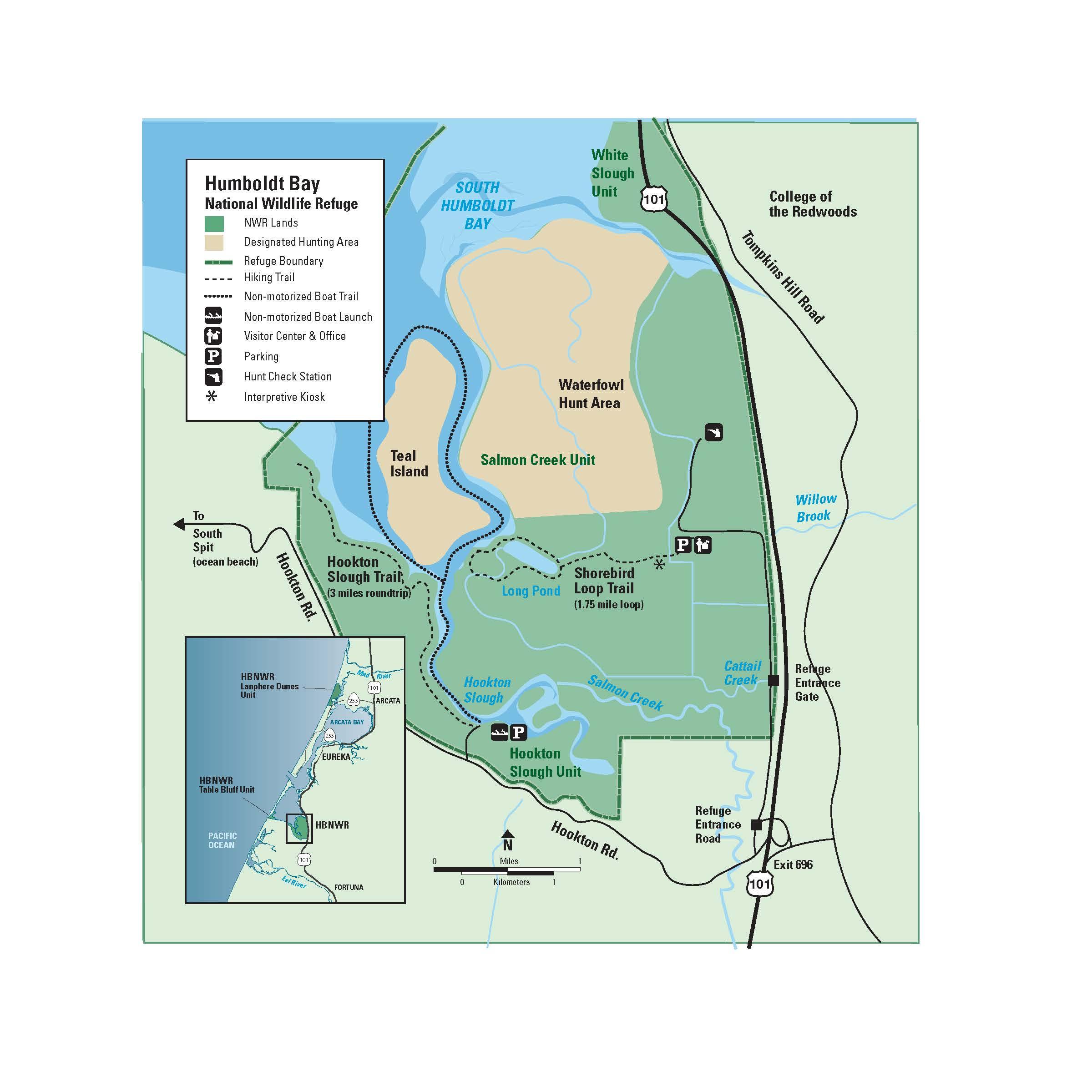 Humboldt bay national wildlife refuge we 39 ve moved to www for Az game and fish boat registration