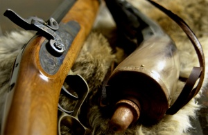 Muzzle-loading shotguns for the California turkey hunting seasons.